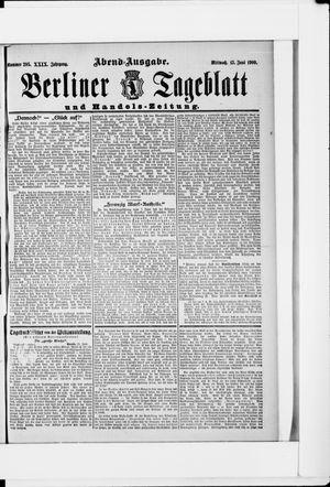 Berliner Tageblatt und Handels-Zeitung on Jun 13, 1900