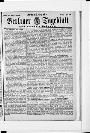 Berliner Tageblatt und Handels-Zeitung vom 03.07.1900