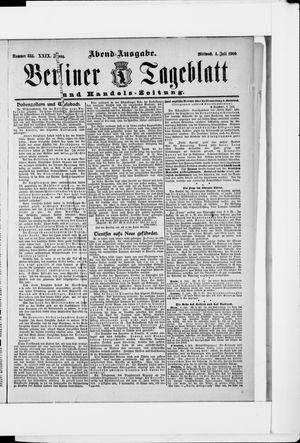 Berliner Tageblatt und Handels-Zeitung vom 04.07.1900