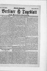 Berliner Tageblatt und Handels-Zeitung (21.10.1901)