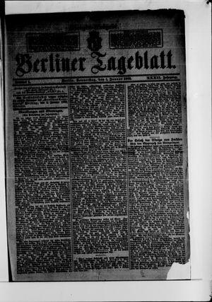 Berliner Tageblatt und Handels-Zeitung vom 01.01.1903