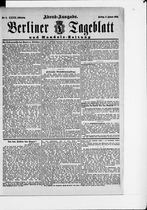 Berliner Tageblatt und Handels-Zeitung vom 02.01.1903