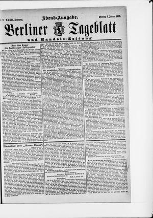 Berliner Tageblatt und Handels-Zeitung vom 05.01.1903