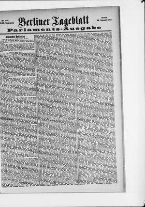 Berliner Tageblatt und Handels-Zeitung vom 24.01.1903