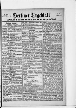Berliner Tageblatt und Handels-Zeitung vom 03.03.1903