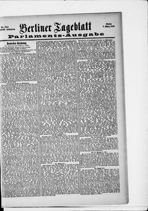 Berliner Tageblatt und Handels-Zeitung vom 07.03.1903