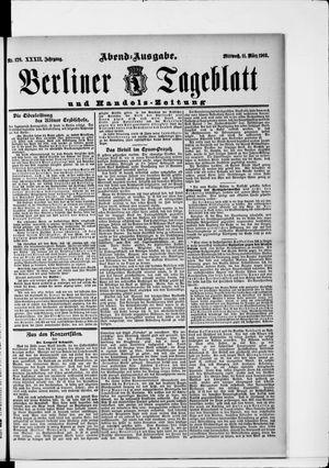 Berliner Tageblatt und Handels-Zeitung on Mar 11, 1903