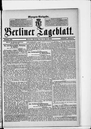 Berliner Tageblatt und Handels-Zeitung vom 05.06.1903
