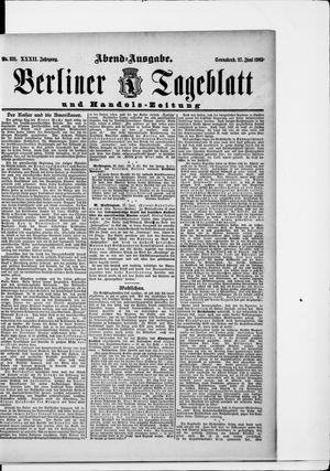 Berliner Tageblatt und Handels-Zeitung vom 27.06.1903