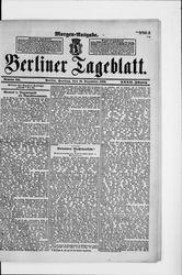 Berliner Tageblatt und Handels-Zeitung (18.12.1903)