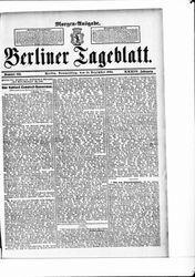 Berliner Tageblatt und Handels-Zeitung (14.12.1905)