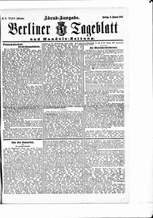 Berliner Tageblatt und Handels-Zeitung vom 05.01.1906