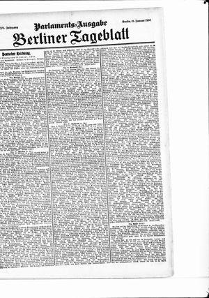 Berliner Tageblatt und Handels-Zeitung on Jan 11, 1906