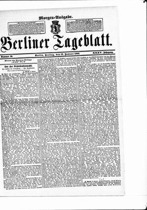 Berliner Tageblatt und Handels-Zeitung vom 12.01.1906