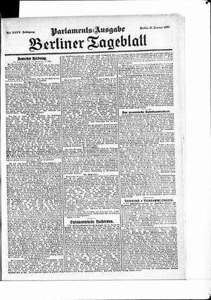 Berliner Tageblatt und Handels-Zeitung vom 13.01.1906