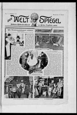 Berliner Tageblatt und Handels-Zeitung vom 18.01.1906