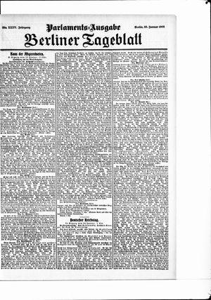 Berliner Tageblatt und Handels-Zeitung vom 23.01.1906