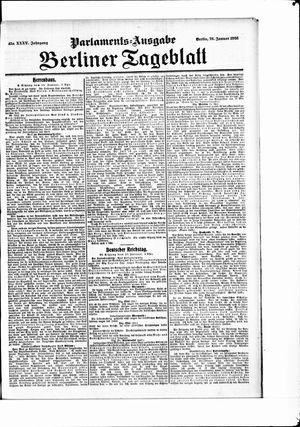Berliner Tageblatt und Handels-Zeitung vom 26.01.1906