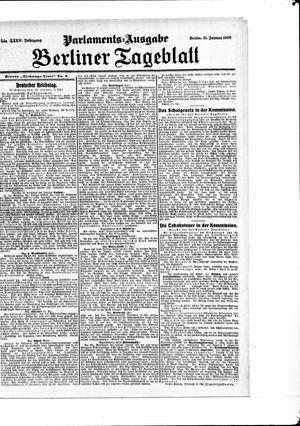 Berliner Tageblatt und Handels-Zeitung vom 31.01.1906