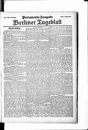 Berliner Tageblatt und Handels-Zeitung vom 02.03.1906