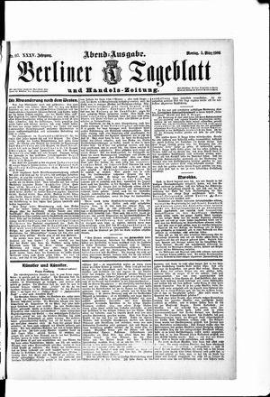 Berliner Tageblatt und Handels-Zeitung vom 05.03.1906