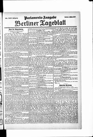 Berliner Tageblatt und Handels-Zeitung vom 07.03.1906