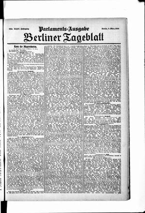Berliner Tageblatt und Handels-Zeitung vom 09.03.1906