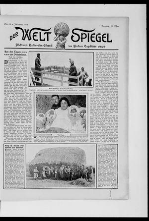 Berliner Tageblatt und Handels-Zeitung vom 25.03.1906