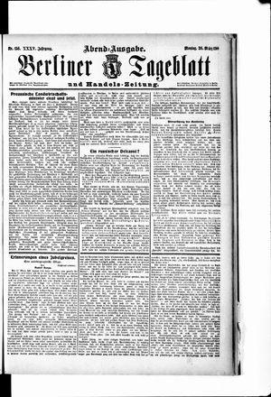 Berliner Tageblatt und Handels-Zeitung on Mar 26, 1906