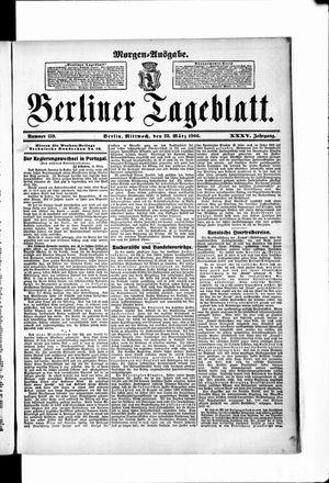Berliner Tageblatt und Handels-Zeitung vom 28.03.1906