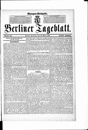 Berliner Tageblatt und Handels-Zeitung vom 30.03.1906