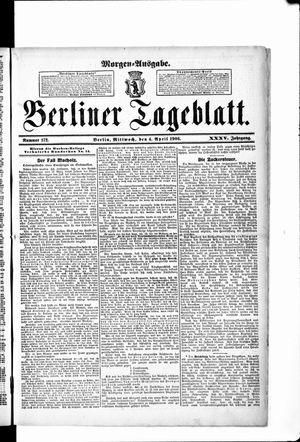 Berliner Tageblatt und Handels-Zeitung vom 04.04.1906