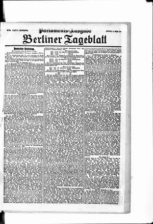 Berliner Tageblatt und Handels-Zeitung vom 01.05.1906