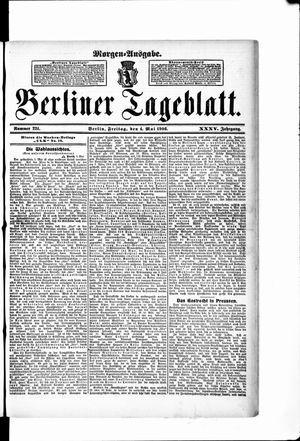 Berliner Tageblatt und Handels-Zeitung vom 04.05.1906