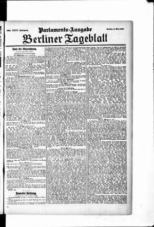 Berliner Tageblatt und Handels-Zeitung vom 05.05.1906