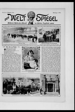Berliner Tageblatt und Handels-Zeitung vom 06.05.1906