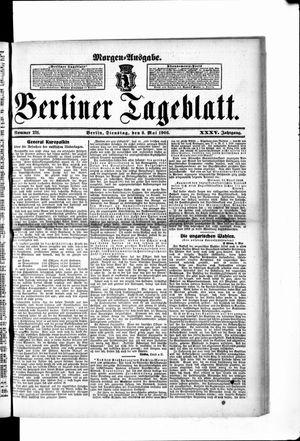 Berliner Tageblatt und Handels-Zeitung on May 8, 1906