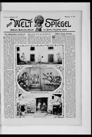 Berliner Tageblatt und Handels-Zeitung vom 27.05.1906