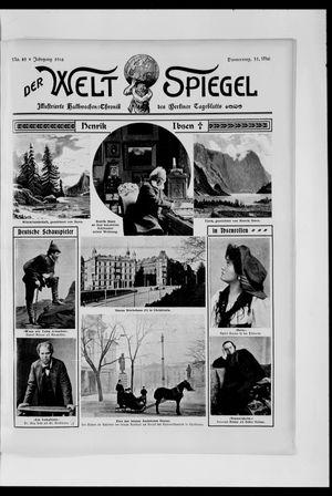 Berliner Tageblatt und Handels-Zeitung vom 31.05.1906