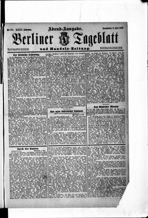 Berliner Tageblatt und Handels-Zeitung vom 02.06.1906