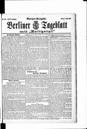Berliner Tageblatt und Handels-Zeitung vom 05.06.1906
