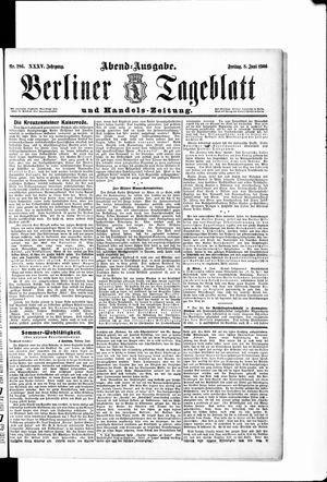 Berliner Tageblatt und Handels-Zeitung vom 08.06.1906