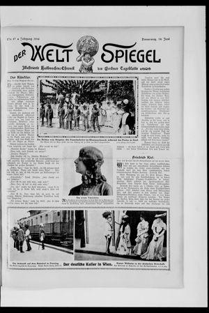 Berliner Tageblatt und Handels-Zeitung vom 14.06.1906