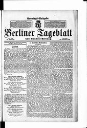 Berliner Tageblatt und Handels-Zeitung (16.12.1906)