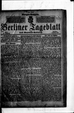 Berliner Tageblatt und Handels-Zeitung vom 01.01.1907
