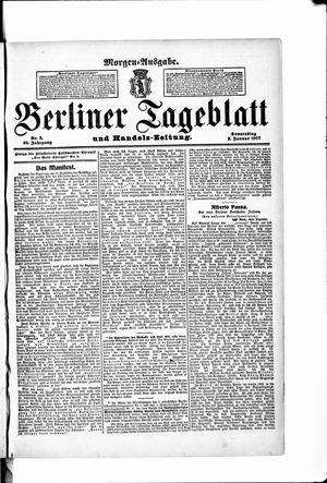 Berliner Tageblatt und Handels-Zeitung vom 03.01.1907