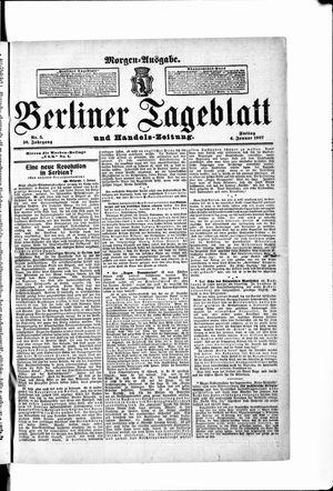 Berliner Tageblatt und Handels-Zeitung vom 04.01.1907