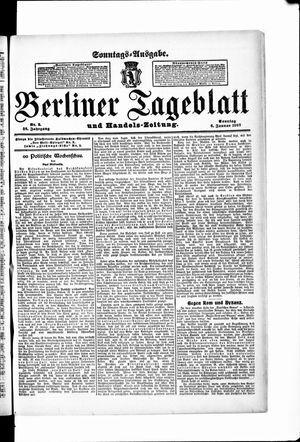 Berliner Tageblatt und Handels-Zeitung vom 06.01.1907