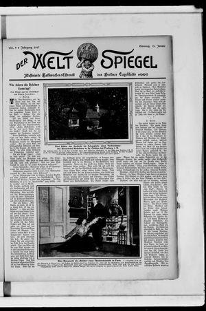 Berliner Tageblatt und Handels-Zeitung vom 13.01.1907