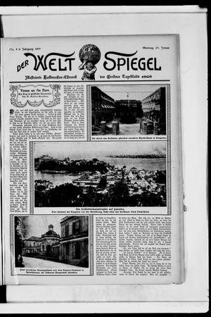 Berliner Tageblatt und Handels-Zeitung vom 27.01.1907